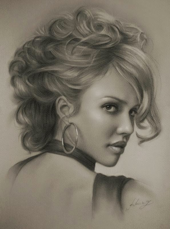 Wonderful Pencil Sketches by Krzysztof Lukasiewicz
