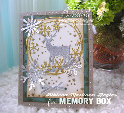 Shabby chic vintage card front