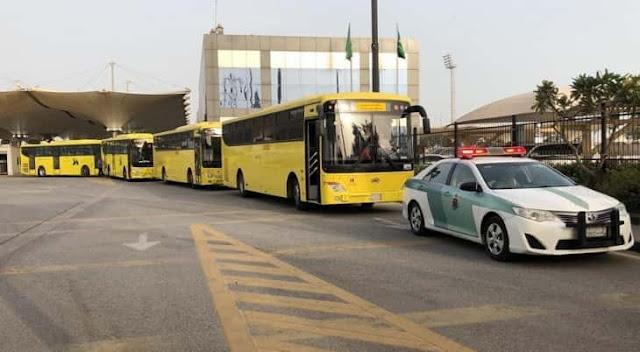 Stranded Saudi citizens in Bahrain return Home via King Fahad Causeway