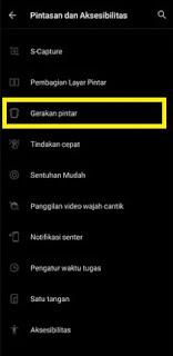 Mengaktifkan Ketuk Layar 2x HP Vivo
