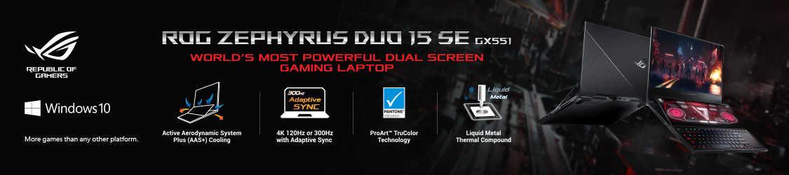 ASUS ROG Zephyrus Duo 15 SE GX551