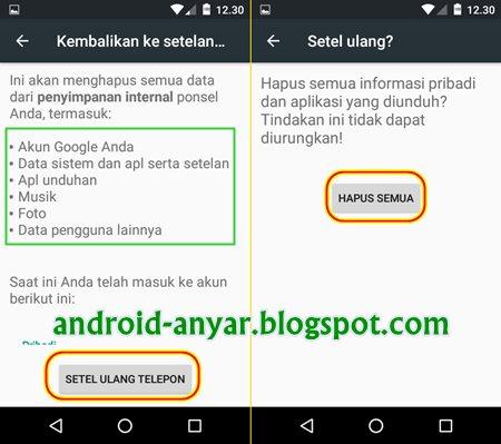 cara flashing android tanpa root