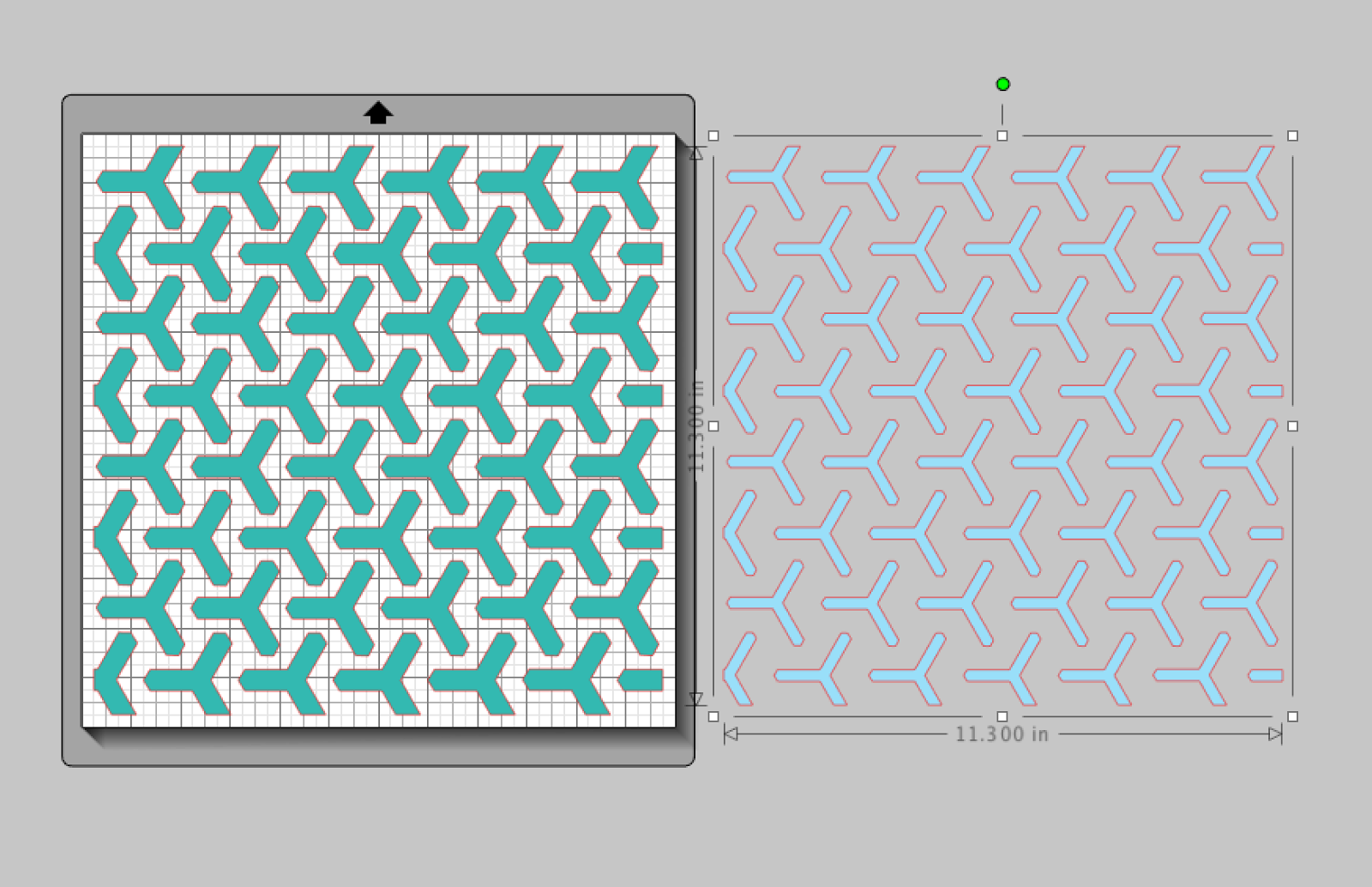 Different colors and different layers with 17turtles Digital Cut Files