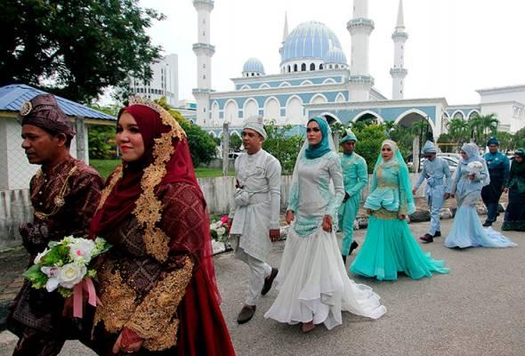 Insentif RM200 Kepada Pasangan Pengantin Yang Berdaftar Di Negeri Pahang