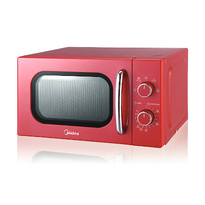 Midea Red Oven