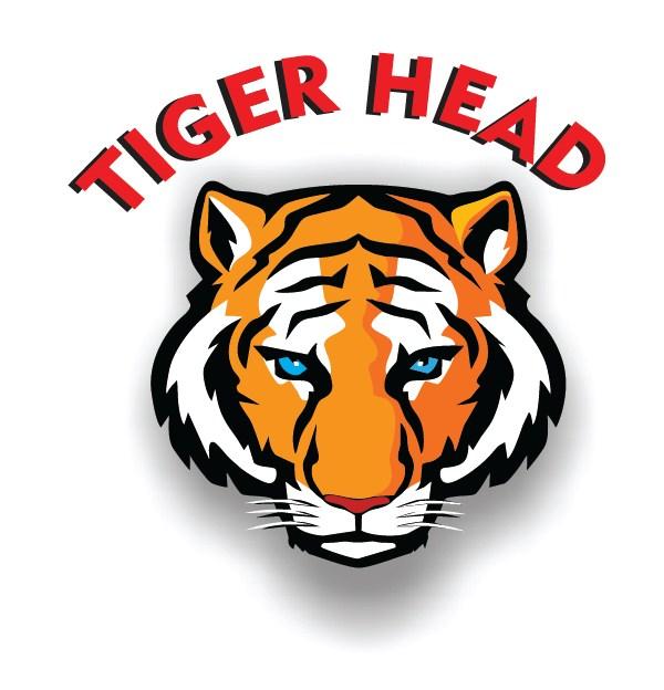 graphic logo tiger head