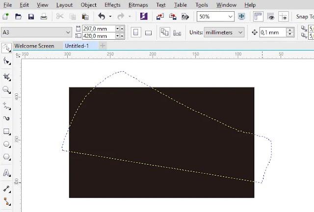 Cara Mudah Seleksi Objek Menggunakan CorelDraw