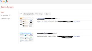 Mempercepat index blog dengan Webmaster Tools