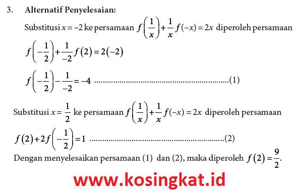 kunci jawaban matematika kelas 10 halaman 97, 98 uji kompetensi 3.1