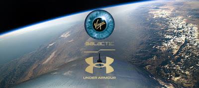 เพอร์ฟอร์มแมนซ์สำหรับโลก  ที่ถูกทดสอบในอวกาศ Under Armour X Virgin Galactic