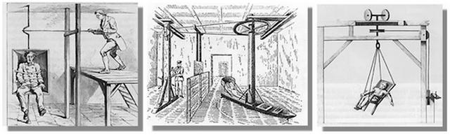 metode pengobatan rotasi dengan cara memutar mutar pasien hingga pusing dan muntah