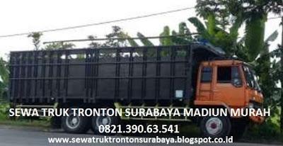 JASA SEWA TRUK TRONTON SURABAYA MADIUN MURAH