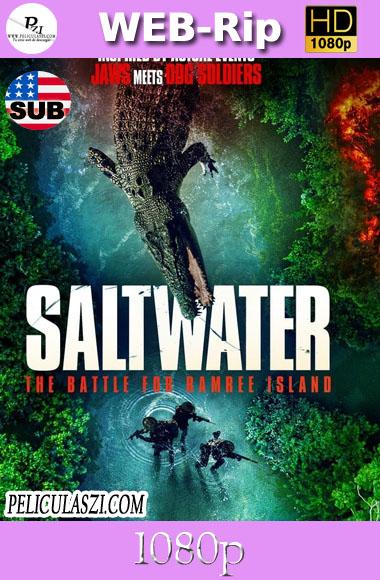 Saltwater: The Battle for Ramree Island (2021) HD WEBRip 1080p SUBTITULADA