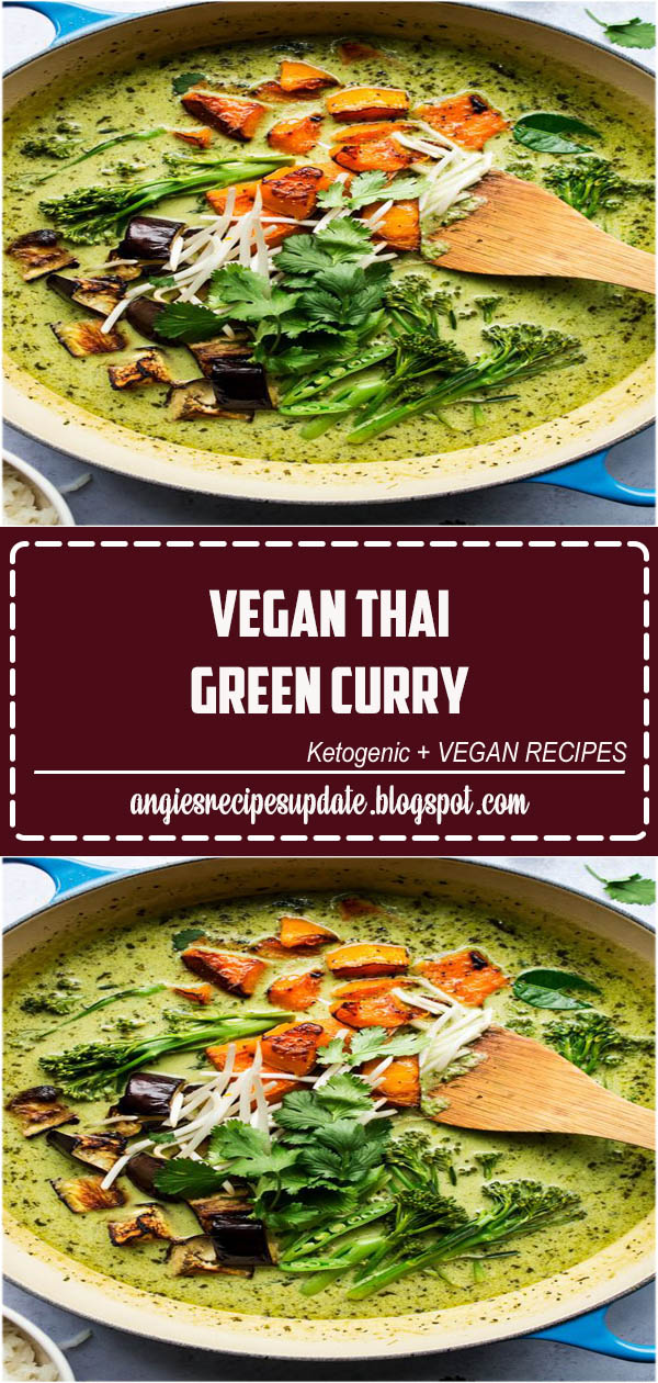 Vegan Thai green curry is a classic Thai crowd pleaser prepared without any animal products yet with the depth of flavour of the original. Naturally gluten-free.