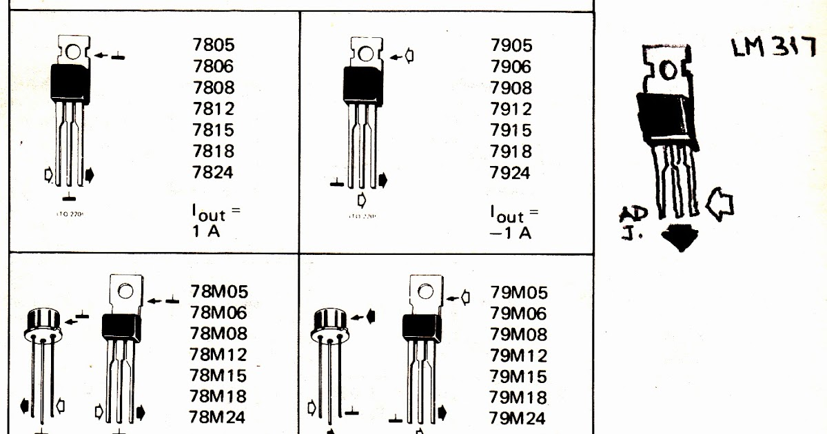 How to Understand and Use Voltage Regulator IC 7805, 7812 ...