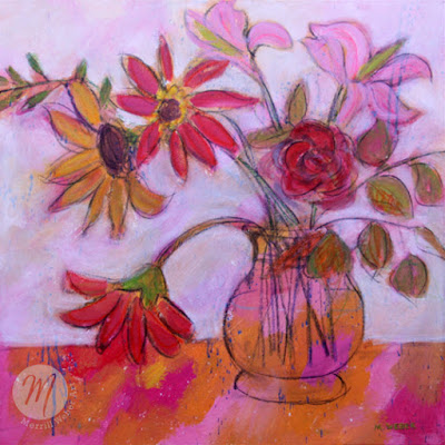 moving-melody-mixed-media-floral-painting-merrill-weber