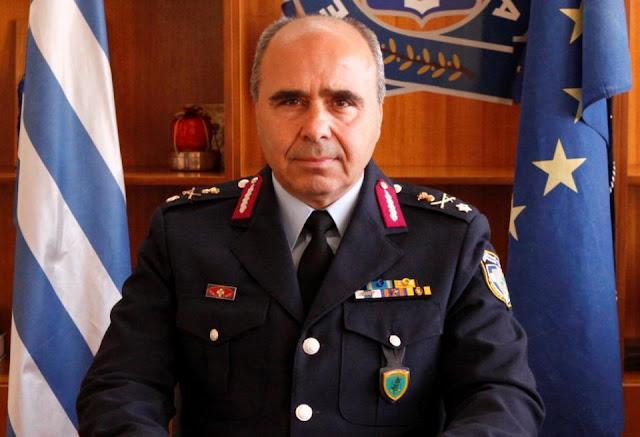 Νέος Αστυνομικός Διευθυντής Πελοποννήσου ο υποστράτηγος Κ. Στεφανόπουλος - Αποστρατεύεται ο ταξίαρχος Ε. Φωτόπουλος