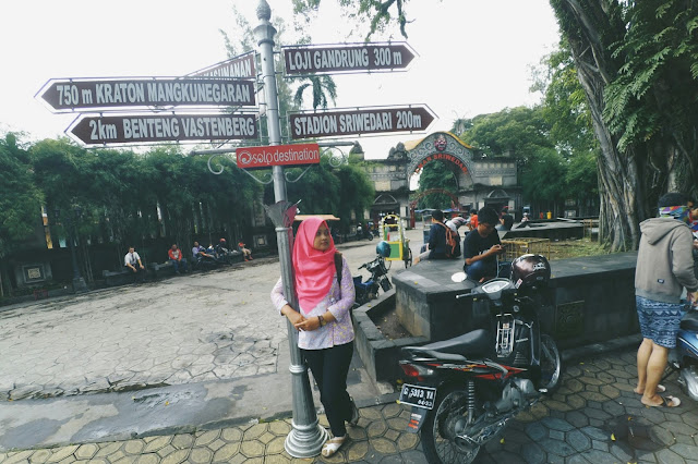 Spot Foto terbaik Taman Sriwedari kota Solo
