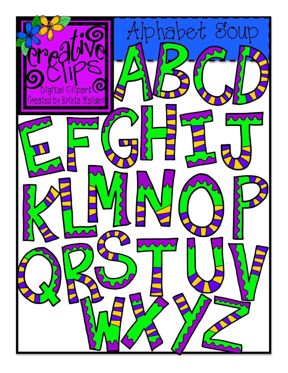 Creative Lettering Alphabet