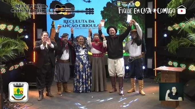 Chega ao fim a Reculuta da Canção Crioula de Guaíba - Edição Especial Virtual