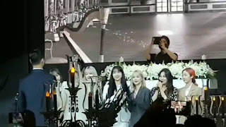 sowon's sister's wedding