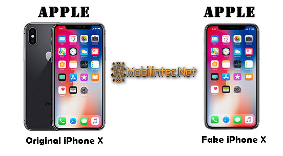 5 Ways To Distinguish iPhone X Original Or Fake