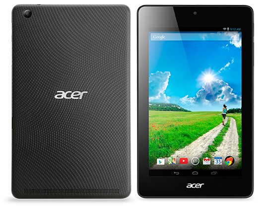 Acer Iconia One 7: Specs, Price and Availability
