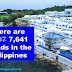 There are 7,641 islands in the Philippines