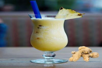 طريقة عمل عصير الأناناس مع الزنجبيل وفوائده للتخسيس