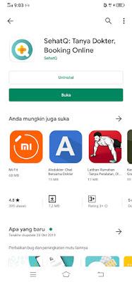 Aplikasi SehatQ.Com