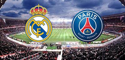مباراة ريال مدريد الاسباني وباريس سان جيرمان الفرنسي والتشكيلات المتوقعة