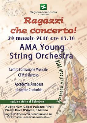 """""""Ragazzi che concerto!"""" Milano Palazzo Pirelli 29/05/2016"""