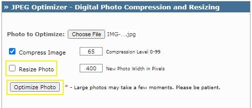 cara merubah ukuran foto online