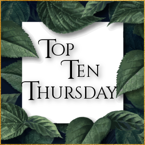 Top Ten Thursday: Mit rosaroter Brille