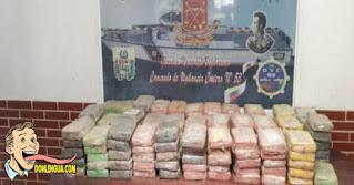 160 panelas de Cocaína estaban enterradas en el Parque Nacional Mochima