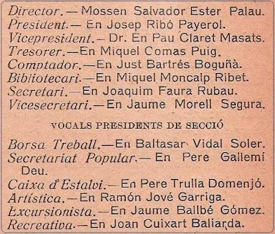 Obra Cristiana, nº 1, pág. 3, Agosto 1922