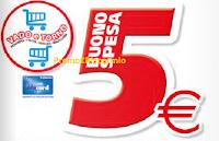 Logo ''Vado e Torno Freschi'' : buono spesa da 5€ nei reparti macelleria, pescherie e ortofrutta