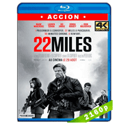 Milla 22: El escape (2018) 4K UHD Audio Dual Latino-Ingles