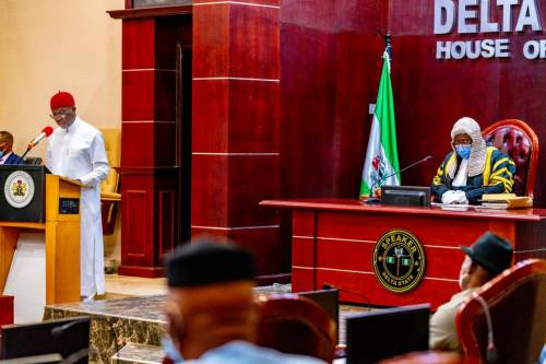 Delta State Governor Presents N378.48bn 2021 Budget