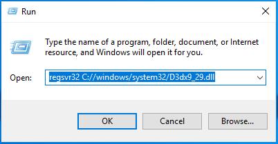 Télécharger D3dx9_29.dll Fichier Gratuit Installer