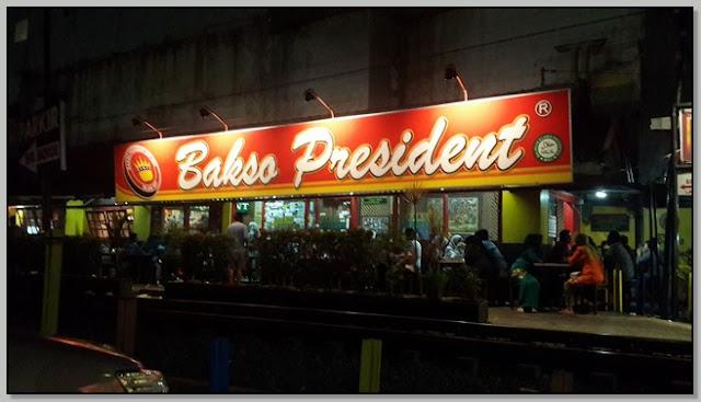 "TEMPAT MAKAN ENAK DI MALANG: ""BAKSO PRESIDENT"""