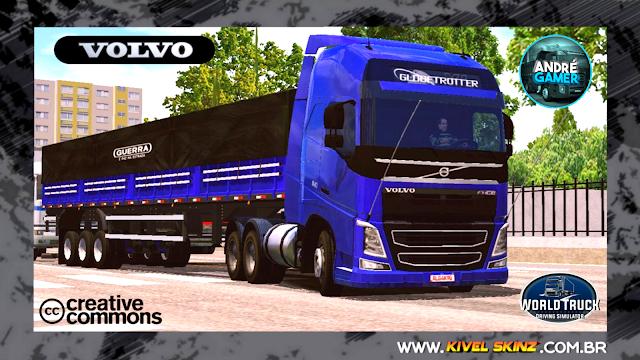 VOLVO FH16 750 - CONJUNTO TOP AZUL ESCURO