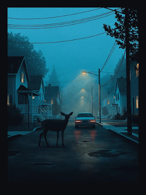 A Momentary Silence Screen Print by Nicholas Moegly x Bottleneck Gallery