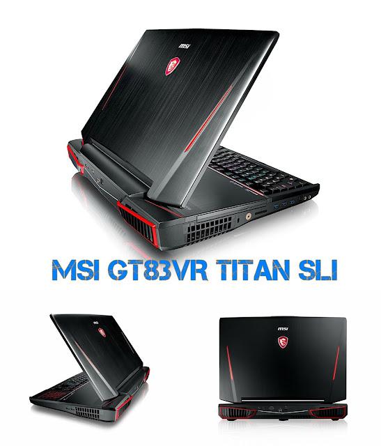 MSI GT83VR Titan SLI - Best Gaming Laptop
