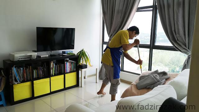 Servis cuci rumah