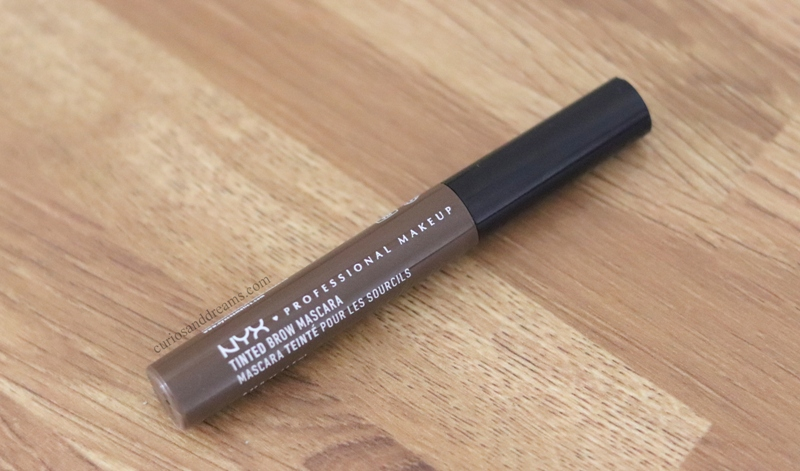 NYX Tinted Brow Mascara review, NYX Tinted Brow Mascara espresso review