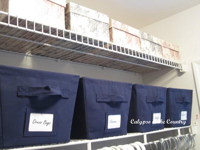 Bins for organization