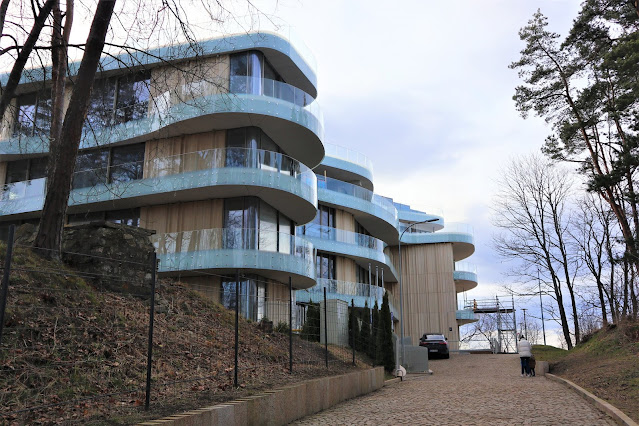 Здание с аппартаментами на месте корпуса №2 бывшего санатория МДКБФ