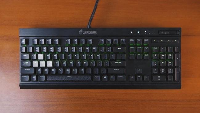 Corsair K70 MK.2 Rapid Fire Mechanical Keyboard for Gaming.