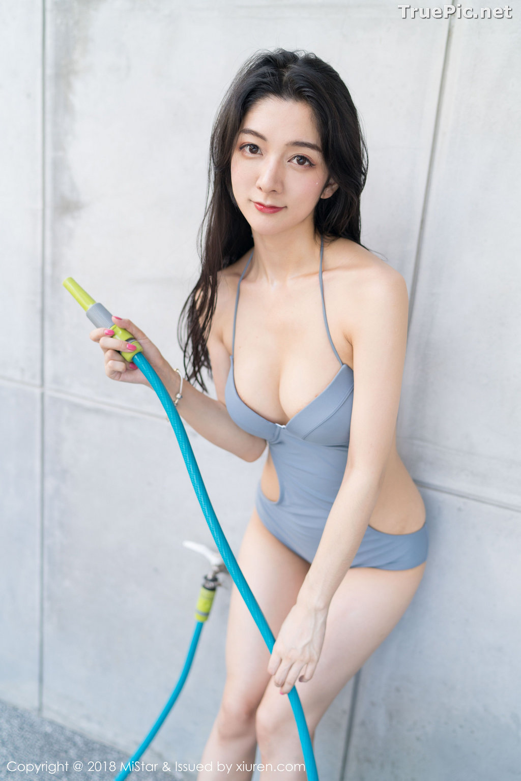 Image MiStar Vol.238 - Chinese Model - Xiao Reba (Angela小热巴) - Sleep Dress and Monokini - TruePic.net - Picture-36